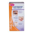 Quick & Easy Hair Remover Wax Strip Kit For Face  Eyebrows & Bikini by Sally Hansen