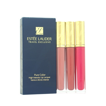 3 Pure Color High Intensity Lip Lacquer Trio by Estee Lauder