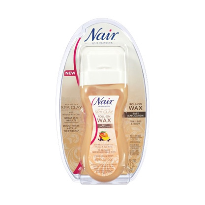 Brazilian Spa Clay Roll-On Wax by Nair
